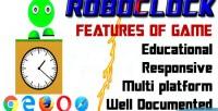 Analog roboclock clock digital to