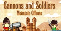 And cannons soldiers offense mountain game shooting html5