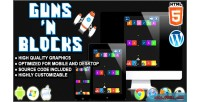 And guns blocks game arcade html5