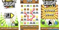 Animals crush match3 html5 game android capx admob