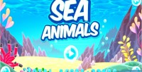 Animals sea html5 mobile game capx game
