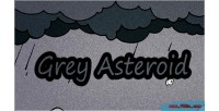 Asteroid grey html5 game