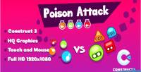 Attack poison html5 construct3 game