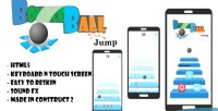 Ball bounce html5 capx game