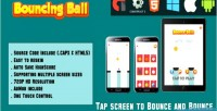 Ball bouncing jump html5 mobile game html5 capx