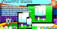 Ball flappy html5 game