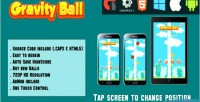 Ball gravity html5 game version mobile html capx