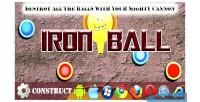 Ball iron