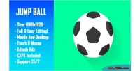 Ball jump arcade html5 game version mobile construct capx 2