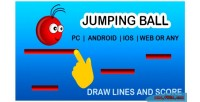Ball jumping game