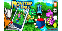 Ball monster html5 2 construct capx