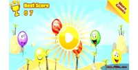 Balloon paradise html5 mobile capx game
