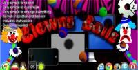 Balls clowns construct admob capx 2