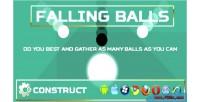 Balls falling