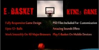 Basket e game html5 ball