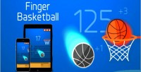 Basketball finger html5 game