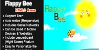 Bee flappy html5 game