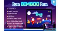 Bimboo run run game html5 fun holiday