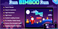 Bimboo run run game html5 fun holiday