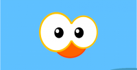 Bird blue html5 mobile android game ios 2 construct