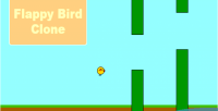Bird flappy clone