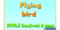 Bird flying game mobile html5