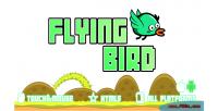 Bird flying game mobile html5