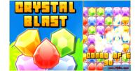 Blast crystal 3 match html5