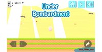 Bombardment under