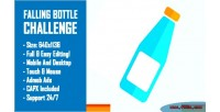 Bottle falling challenge bottle flip html5 challenge game constru version mobile