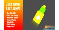 Bottle juice fast jumps bottle challenge jump html5 game construc version mobile