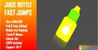 Bottle juice fast jumps bottle challenge jump html5 game construc version mobile