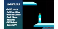 Bottle jump flip html5 game version mobile construct capx 2