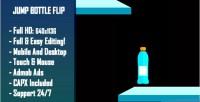 Bottle jump flip html5 game version mobile construct capx 2