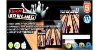Bowling classic game sport html5