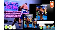 Boxing ultimate game sport html5