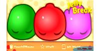 Break jelly game match3 html5