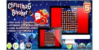 Breaker christmas html5 game