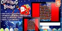 Breaker christmas html5 game