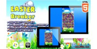 Breaker easter html5 game