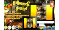 Breaker halloween game puzzle html5