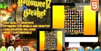 Breaker halloween game puzzle html5
