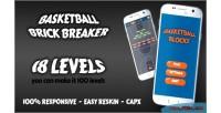 Brick basketball breaking game