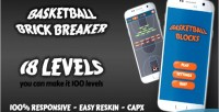 Brick basketball breaking game