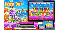 Brick out html5 game mobile vesion admob construct capx 2