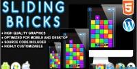 Bricks sliding game skill html5