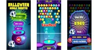 Bubble shooter html5 game mobile vesion admob construct capx 2 bubble