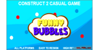 Bubbles funny html5 game 2 construct