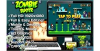 Buster zombie html5 game 20 mobile levels version construct capx 2