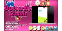 Butterfly catch html5 survival game admob cocoon io app ready capx 2 construct